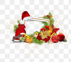 Interior Design Picture Frame - Christmas Decoration PNG