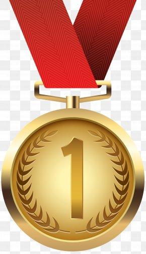 Gold Medal Clip Art - Gold Medal Clip Art PNG