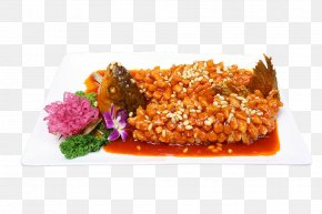 Squirrel Fish - Chinese Cuisine Squirrel Sweet And Sour Fish Food PNG