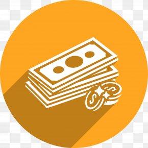 Golden Pencil Vector Icon - Debt Money Icon PNG