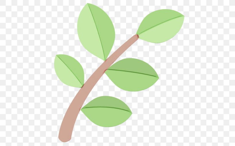 Leaf Green Plant Flower Tree, PNG, 512x512px, Watercolor, Branch, Flower, Green, Leaf Download Free