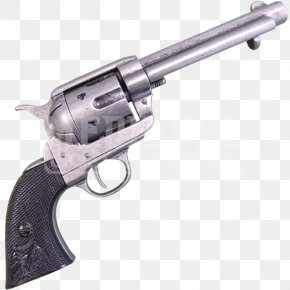 Weapon - Revolver Firearm Colt Single Action Army Colt's Manufacturing Company .45 Colt PNG