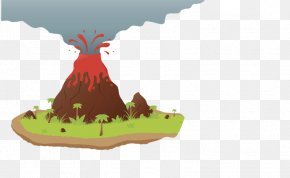 Volcano Picture - Volcano Cartoon Magma Euclidean Vector PNG