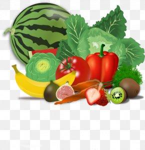 Veggie Cliparts - Fruit Vegetable Healthy Diet Food Group Clip Art PNG