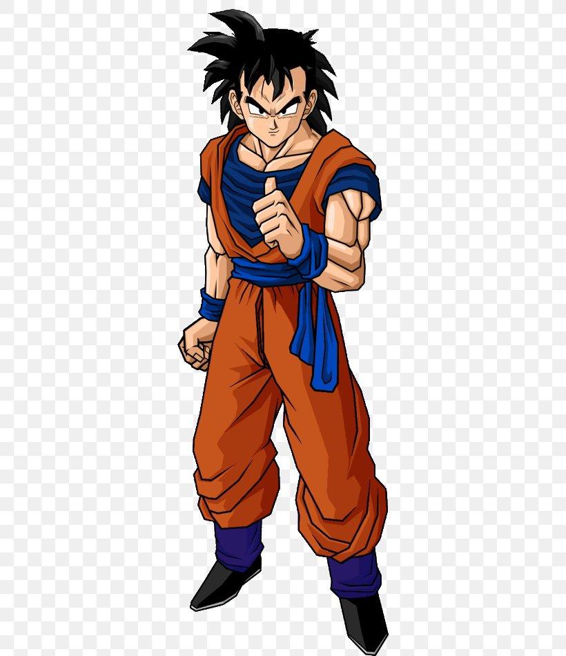 Gohan Goku Goten Trunks Vegeta, PNG, 306x950px, Watercolor, Cartoon, Flower, Frame, Heart Download Free