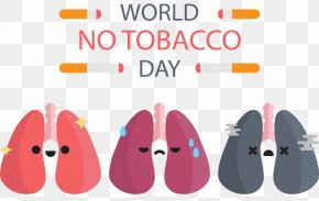 Healthy Lungs - Smoking Cessation Lung World No Tobacco Day Tobacco Control PNG