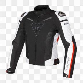 Jacket - Leather Jacket Dainese Textile Motorcycle PNG