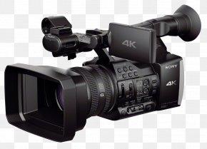 Sony - Sony Handycam FDR-AX1 Video Cameras 4K Resolution Professional Video Camera PNG
