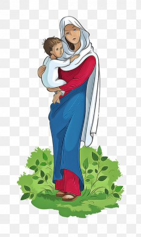 Plant Mother - Cartoon Clip Art Male Interaction Mother PNG