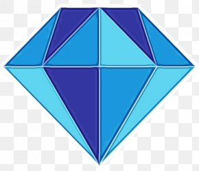 Symmetry Triangle - Blue Turquoise Aqua Line Turquoise PNG