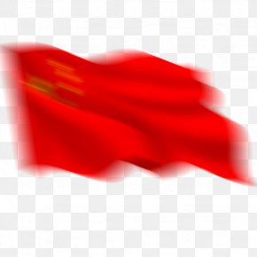 Floating Red Flag - Red Flag Red Flag Flag Of The United States PNG
