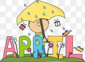 April Flowers Cliparts - April Free Content Clip Art PNG