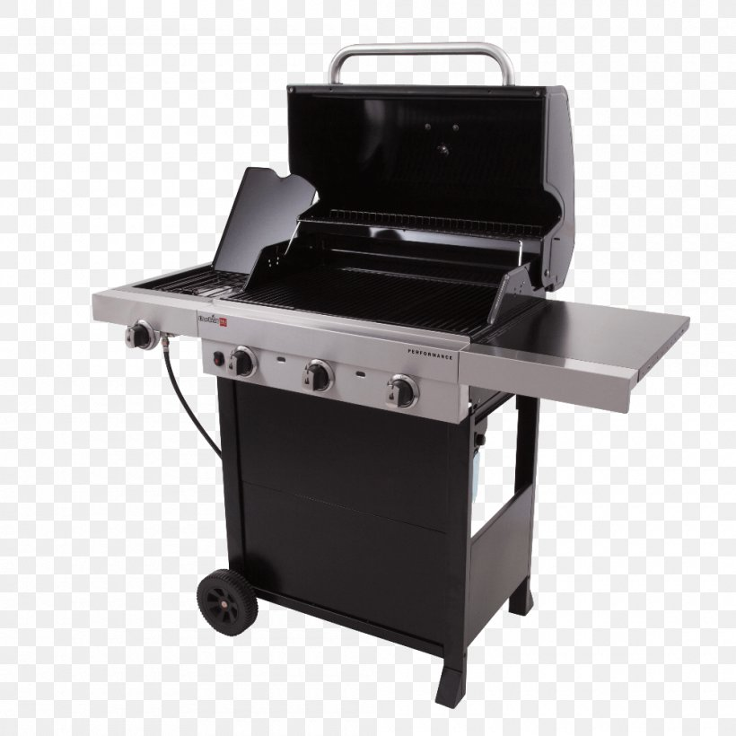 Barbecue Grilling Char-Broil Performance Series Outdoor Cooking, PNG, 1000x1000px, Barbecue, Bbq Smoker, Charbroil, Charbroil Patio Bistro, Cooking Download Free