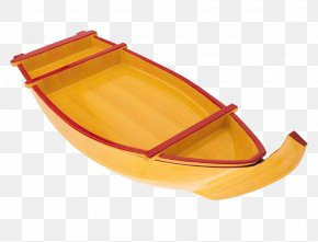 Textured Wooden Boat Elements - Boat Template Canoe PNG