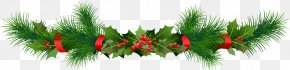 Garland - Borders And Frames Clip Art Christmas Garland Christmas Day PNG