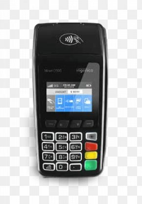 Reading Terminal Market - Feature Phone Mobile Phones Payment Terminal Ingenico Point Of Sale PNG