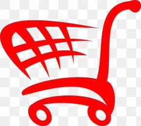 Shopping Cart - Shopping Cart Bag Clip Art PNG