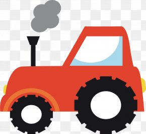 Farm Tractor - Tractor Farm Agriculture Sticker PNG
