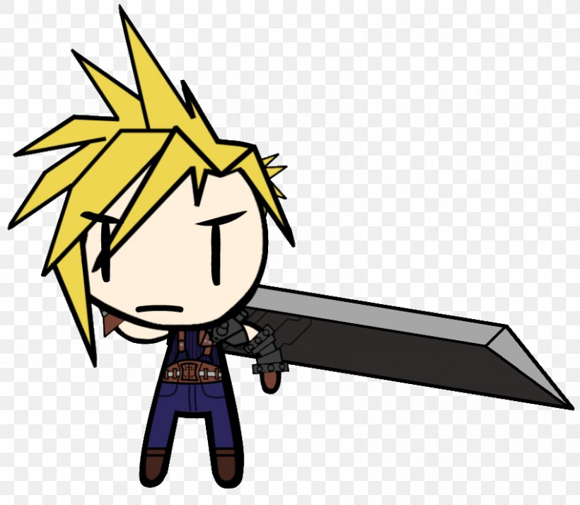 Cloud Strife Final Fantasy Vii Sephiroth Character Png