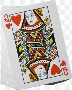 Queen - Queen Of Hearts Playing Card Clip Art Queen Of Hearts PNG