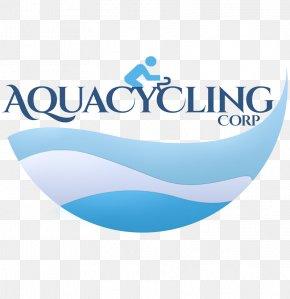 Spinning Class - Aqua Cycling Corp Logo Brand Product PNG