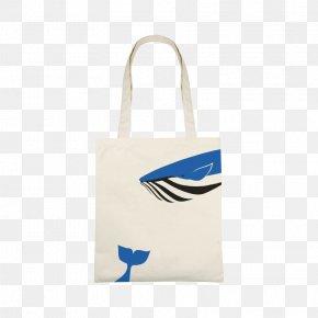 Blue Whale Canvas Bag - Chanel Tote Bag Canvas Handbag PNG