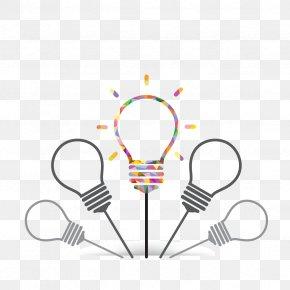 Flat,light Bulb,Vector,Light - Business Idea PNG