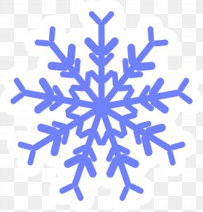 Blue Snowflakes - Snowflake Photography Euclidean Vector Icon PNG