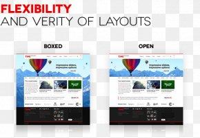Web Page Templates - Responsive Web Design Page Layout WordPress Web Page Theme PNG