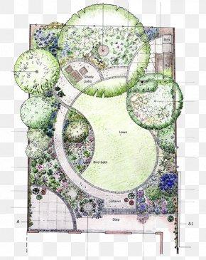 City Garden Painted Renderings - Garden Design Page Layout Flower Garden PNG