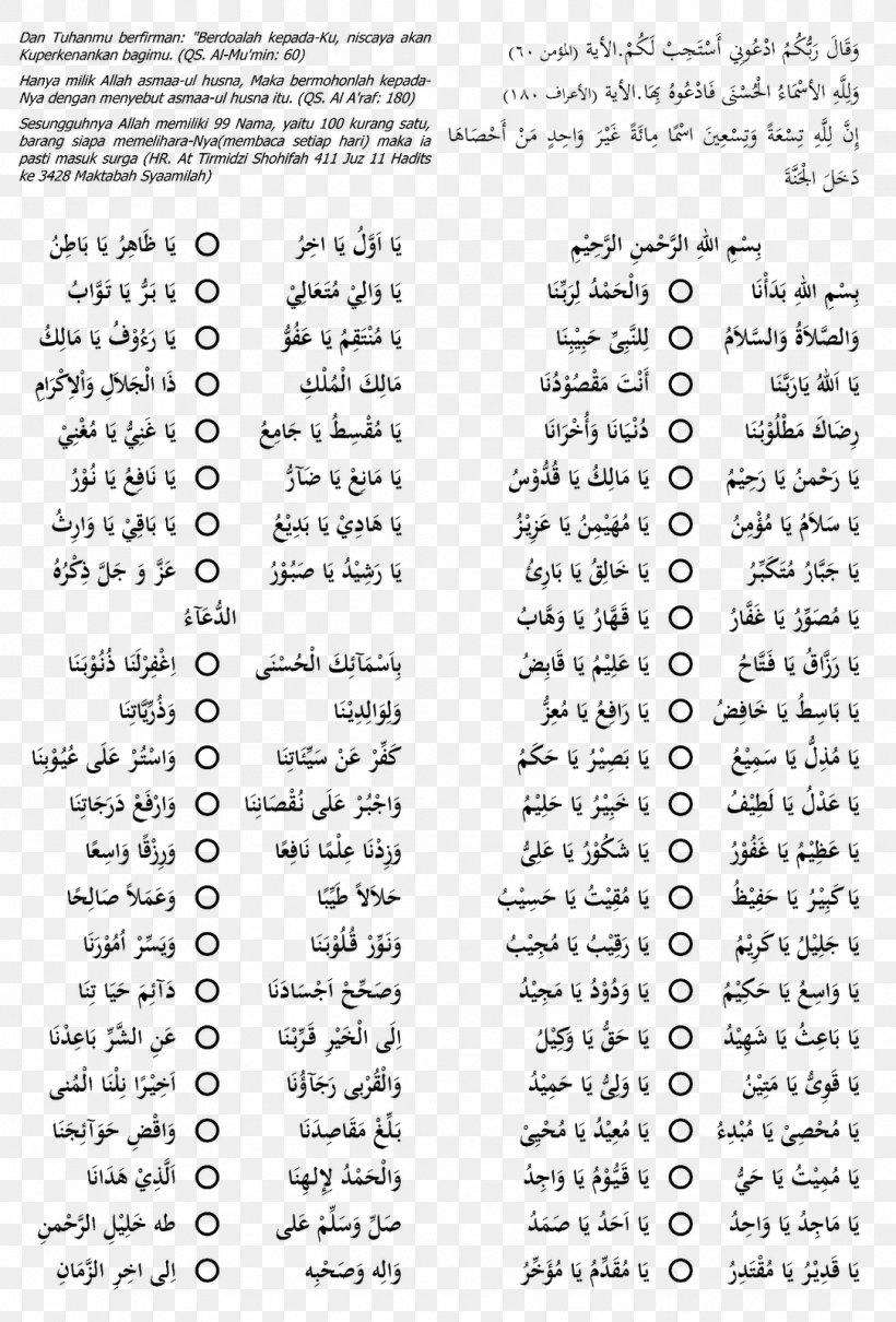 Names Of God In Islam Allah Religion Tasbih Png 1084x1600px Names Of God In Islam Alhamdulillah