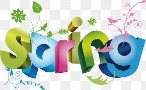Happy Spring - Art Clip Art PNG