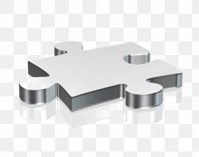 3D Texture Silver Puzzle Pieces - Enterprise Resource Planning Business Enterprise Software Organization PNG