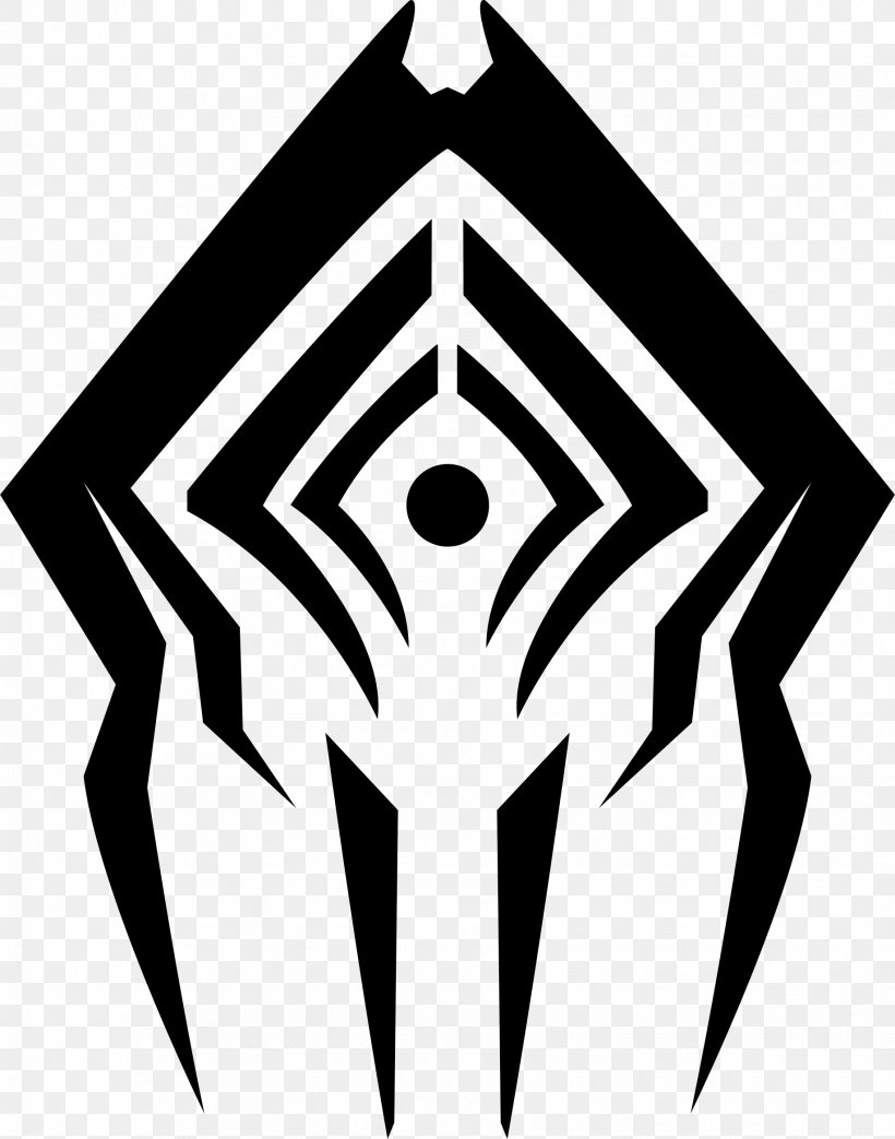 Warframe T-shirt PlayStation 4 Logo Sigil, PNG, 1835x2335px, Warframe, Art, Black, Black And White, Deviantart Download Free