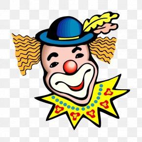 Cartoon Smiley Clown - Carnival Circus Can Stock Photo Clip Art PNG