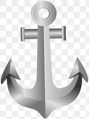 Silver Anchor Clip Art - Image File Formats Lossless Compression PNG