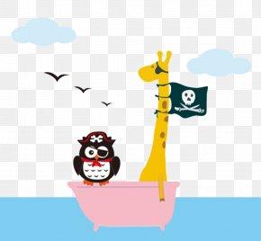 Owl Pirate - Piracy Ship PNG