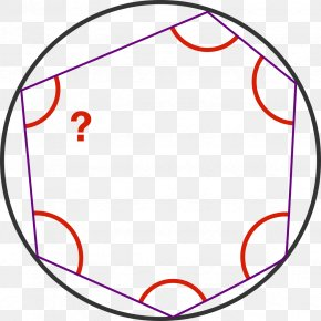 Irregular Geometry - Circle Internal Angle Point Inscribed Figure PNG