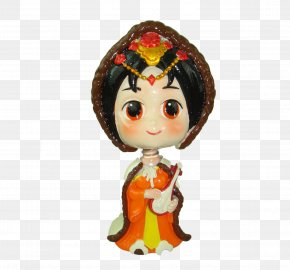 Wang Zhaojun Cartoon Doll - Designer PNG