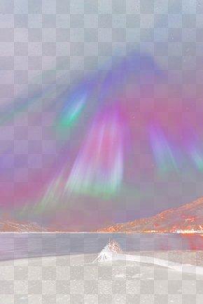 Aurora - Rainbow Sky Sunlight Atmosphere Daytime PNG