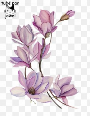 Flower - Watercolor Painting Drawing Tattoo Watercolour Flowers PNG