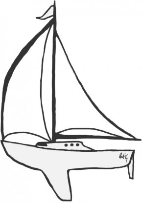 Sailboat Pictures For Kids - Sailboat Child Clip Art PNG