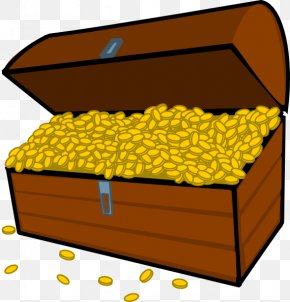 Pictures Of Treasure Chests - Buried Treasure Cartoon Clip Art PNG