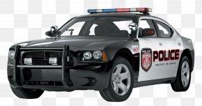 Black Police Police Car - Police Car Clip Art PNG
