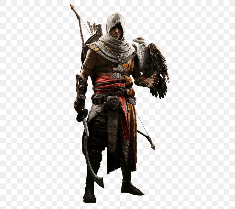 Assassin's Creed: Origins Bayek Di Siwa Video Games Character Siwa Oasis, PNG, 384x729px, Assassins Creed Origins, Action Figure, Armour, Assassins, Assassins Creed Download Free