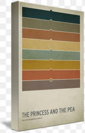 Princess And The Pea - The Princess And The Pea Gallery Wrap Canvas Shelf Art PNG