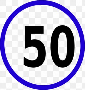Cliparts Speed Limit 3 - Speed Limit Traffic Sign Speed Bump Speed Sign Clip Art PNG