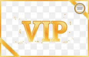 Yellow Membership Card - Yellow PNG