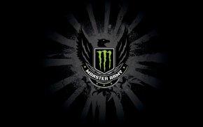 Monster Energy Logo - Monster Energy Energy Drink SpeedArt Wallpaper PNG