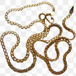 Gold Chain - Body Jewellery Chain Necklace Metal PNG